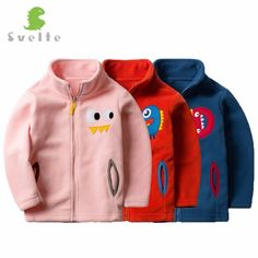 Special price Svelte Brand For Spring Fall Children Kids Boys Girls Solid Fleece with Cartoon Pattern Softshell Jackets Coats Clothes Jersey just only $16.19 with free shipping worldwide  #boysclothing Plese click on picture to see our special price for you
