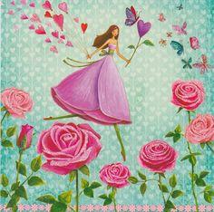 Square card selection by Mila Marquis * 3 piece * Minimum order value 10 Euro * Fantasy Drawings, Fantasy Art, Marie Cardouat, Art Fantaisiste, Butterfly Canvas, Photo Deco, Postcard Design, Jolie Photo, Whimsical Art