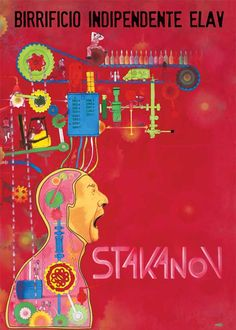 Stakanov poster by Cp Melcaf | Download at: http://www.elavbrewery.com/it/landing-area-download
