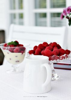 MissMette: Summer and raspberry on the terrace...