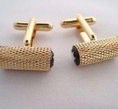 Luxusné manžetové gombíky v zlatej farbe