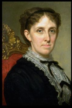 Louisa May Alcott portrait by George Healy