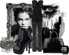 """Dark Angel"" by leelee107 ❤ liked on Polyvore"