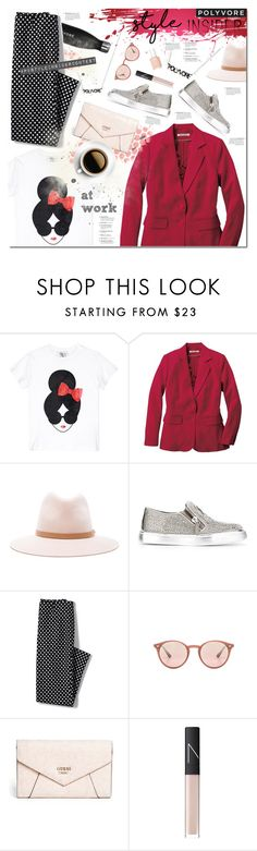 """""""#StyleInsider"""" by justlovedesign ❤ liked on Polyvore featuring Alice + Olivia, TravelSmith, rag & bone, Giuseppe Zanotti, Lands' End, Ray-Ban, GUESS, NARS Cosmetics, Essie and contestentry"""