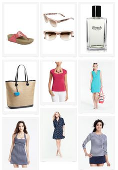 Spring Beach-Themed Fashion
