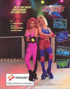Vintage Konami Rollergames ad #vintagead #vintageadvertising #vintageadvertisement #80s #90s #game #videogame #vintagegame #retrogame #vintagegaming #retrogaming #oldschool #oldskool #classic #gaming #gamer #videogames #nintendo #nes #sega #segagenesis #supernintendo #atari #rollerblades #rollerblading #rollerderby #konami #rollergames #80sladies #80sbabe #80sbabes #80schick #80schicks #90sbabe #90sbabes #90schick #90schicks #neon #neonbasement