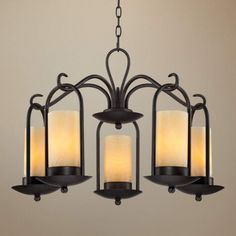 Image result for large rustic wrought iron chandeliers