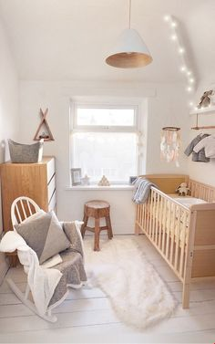 with the arrival of our first baby around the corner it was time to turn our box room into something a bit more suitable the outcome is a scandi woodland
