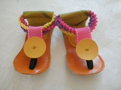 SHOES boho hippie Baby beach  SanDaLs    6 to 9 mnths by ollybelle, $18.99
