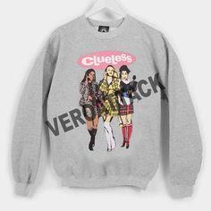 clueless cover Unisex Sweatshirts