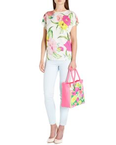 http://www.tedbaker.com OHLLA Floral print tee      £45