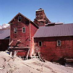 Kennicott Copper Mine Alaska, USA