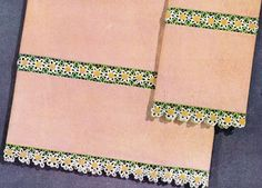 Crochet Borders,Trims and Edgings – free patterns – Grandmother's Pattern Book--a WHOLE LOT of really pretty edgings!!