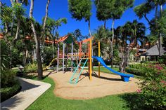 Holiday-ing with your little ones? We will keep them entertained with our playground and swimming pool.   www.benoaresort.com #thetanjungbenoa #thetanjungbenoabeachresortbali #TheTAOBali #bali