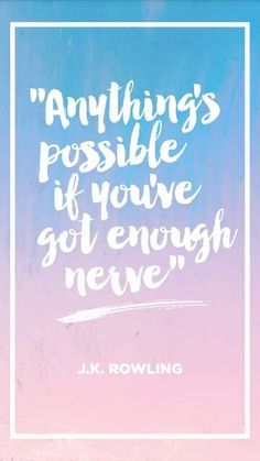 Anything is possible #jkrowling #cosmopolitan #buzzfeed #snapchat