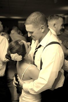 Bride and groom end of night, last dance   in wardrobe change