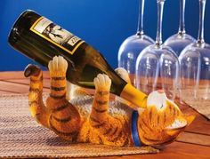 Life with a Cat,Cat Wine Bottle Holder,Polystone,13x5.8x6.5 Inches by Evergreen Enterprises, Inc, http://www.amazon.com/dp/B0094G13D4/ref=cm_sw_r_pi_dp_xB6vrb0TEZZ1A