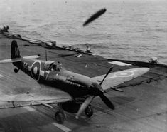 ... in spite of its evil deck-landing reputation, Seafire squadrons also proved to be capable of catching an arrester-wire at 40-second intervals. Description from armouredcarriers.com. I searched for this on bing.com/images