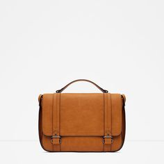 ZARA - WOMAN - CONVERTIBLE CITY MESSENGER BAG
