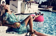 Fashion Tartare: Chic Pool Party