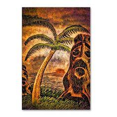 Tiki Island 9-12 Postcards (Package of 8) on CafePress.com