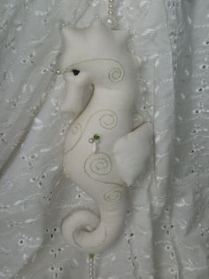 Items similar to Exclusive seahorse with rich embellishments OOAK - off-white and greens - medium size on Etsy Some Pictures, Embellishments, Sea, Trending Outfits, Unique Jewelry, Handmade Gifts, Etsy, Vintage, Kid Craft Gifts