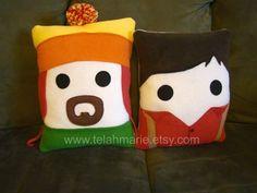 Firefly pillows