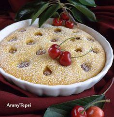 AranyTepsi: Kerek cseresznyés pite