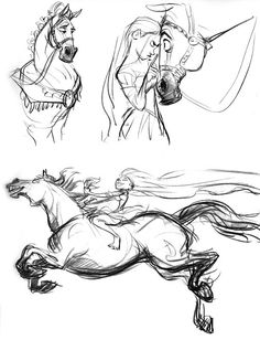 Glen Keane || CHARACTER DESIGN REFERENCES | Find more at www.facebook.com/... if you're looking for