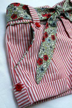 Sewing Shorts Kids Ideas 29 Ideas For 2019 Sewing Shorts, Sewing Clothes, Doll Clothes, Girl Dress Patterns, Sewing Patterns, Little Girl Dresses, Girls Dresses, Short Niña, Kids Shorts