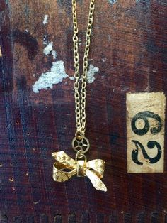 Handmade one of a kind gold plated charm by L2CreationsJewelry