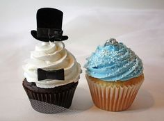 cute #cupcakes idea for a #wedding