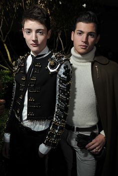 Harry and Peter Brant Front Row at Dior Haute Couture
