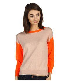 Rebecca Taylor Color Block Sweater