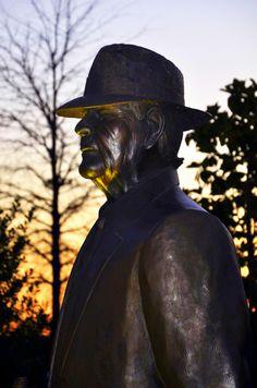 """Bear Bryant""  Statue outside Bryant Denny Stadium- Tuscaloosa AL"