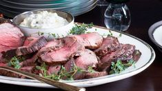 When you're cooking for a full house during the holidays you need something hearty to feed so many bellies. Our roasted beef tenderloin complete with horseradish cream sauce will definitely do the trick. Get the recipe: http://www.bonappetit.com/recipe/roast-beef-tenderloin-with-garlic-and-rosemary