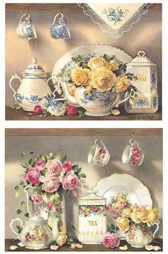 belleza en una taza de té,