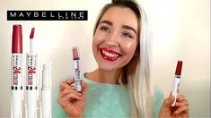 MAYBELLINE #SuperStay24 Lip Color Review!