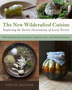 Super excited about my book available on pre-order discounted price will apply. 432 pages of goodness and 600 photos. Going to be an unusual foraging book for sure - beers, barks, wines, vinegars, leaves, dirt, fermentation, wild cheeses, insects, spice blends, preserves, pickles, and so much more! http://www.amazon.com/New-Wildcrafted-Cuisine-Exploring-Gastronomy/dp/1603586067/ref=sr_1_1?ie=UTF8&qid=1447953706&sr=8-1&keywords=The+new+wildcrafted+cuisine