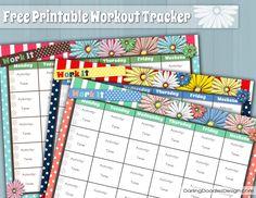 Fitness tracker calendar ideas for 2019 Workout Calendar Printable, Printable Workouts, Printable Planner, Free Printables, Planner Stickers, Printable Art, Training Tracker, Fitness Tracker, Fitness Journal