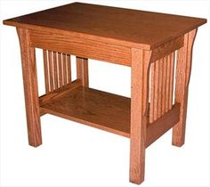 Amish Prairie Mission Large End Table 23 inches h x 27 inches w
