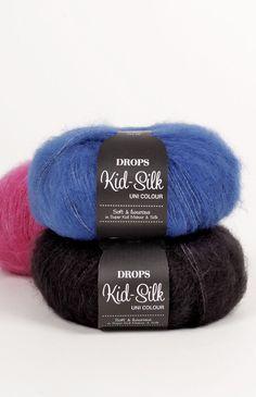 Farbkarte für DROPS Kid-Silk ~ DROPS Design