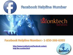 Do & Don't With Facebook To Keep It Safe!! Contact Facebook Helpline Number 1-850-316-4893   Facebook is not only a place to connect with so many people across the world but it is also a convenient platform for cyber criminals to extend their criminal thoughts. Our Facebook Help team is available for assisting the authentic users in providing safety to their accounts and privacy.