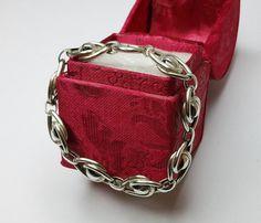 Nostalgisches Silberarmband Gliederarmband aus von Schmuckbaron
