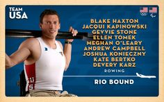 First Seven Rowers Qualify For The 2016 U.S. Olympic Team; Haxton, Kapinowski Qualify For Paralympics
