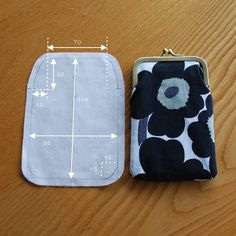 Awesome 15 Beginner sewing projects tips are offered on our website. Read more and you wont be sorry you did. Coin Purse Pattern, Cute Coin Purse, Coin Purse Tutorial, Purse Patterns, Sewing Patterns, Tote Tutorial, Wallet Pattern, Tote Pattern, Diy Bags Purses