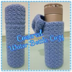 Covered Water Bottle Cozy