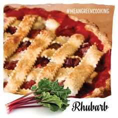 Get the recipe for this yummy rhubarb pie here!
