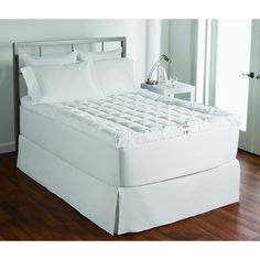 Luxury 400 Thread Count Cotton Cuddlebed Fiber Bed/ Toppper