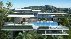 Modern chic villa